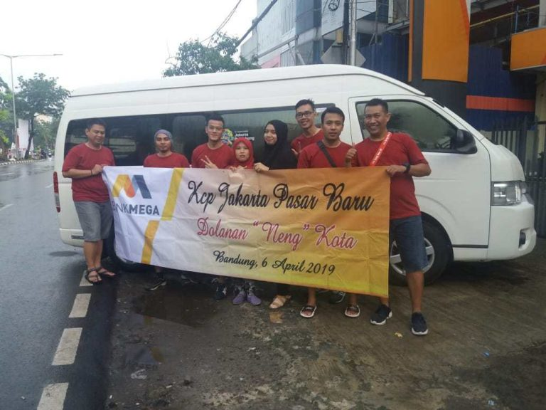 Sewa Hiace – Rombongan Karyawan Bank Mega KCP Jakarta Pasar Baru